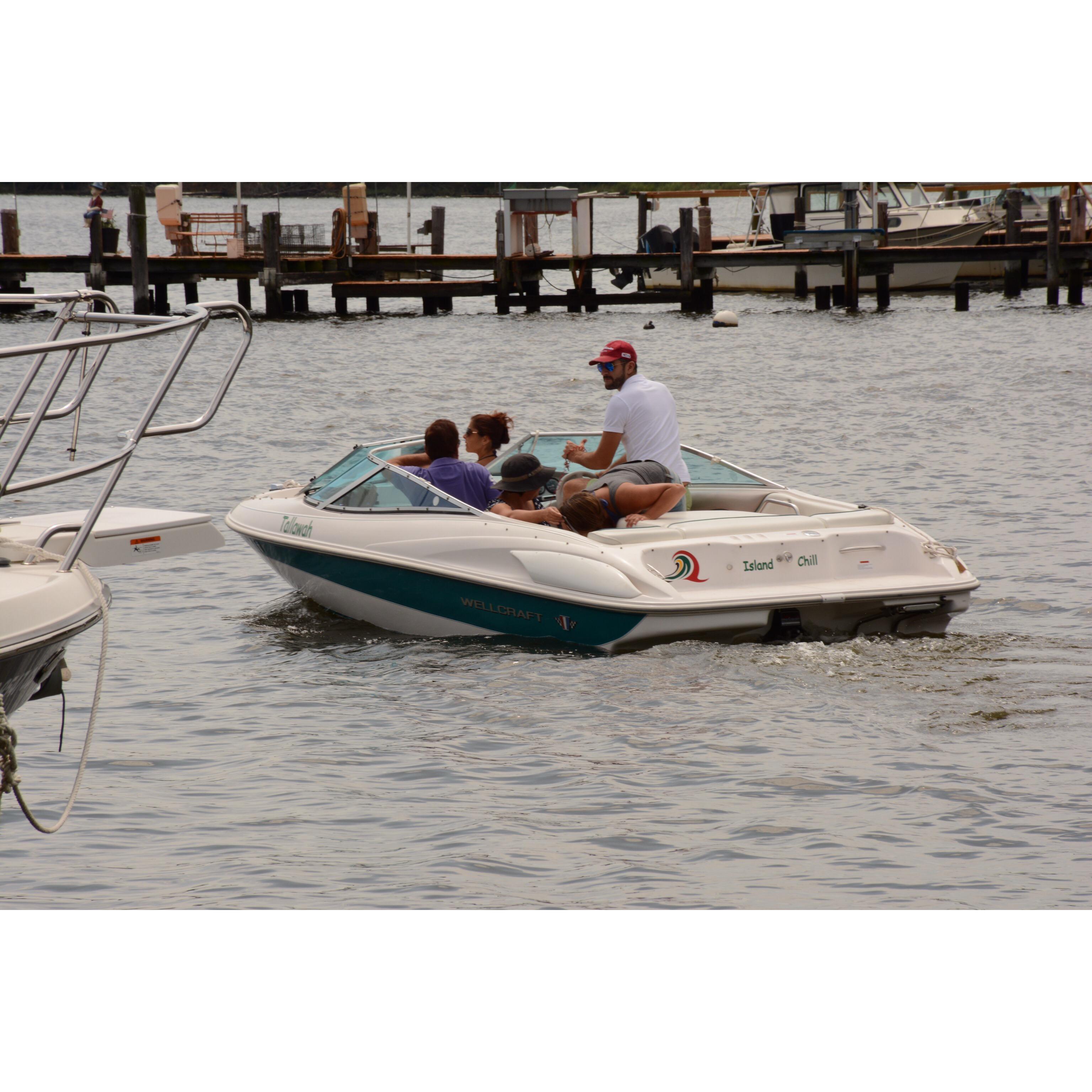 bow-rider bareboat charter Annapolis md Chesapeake bay