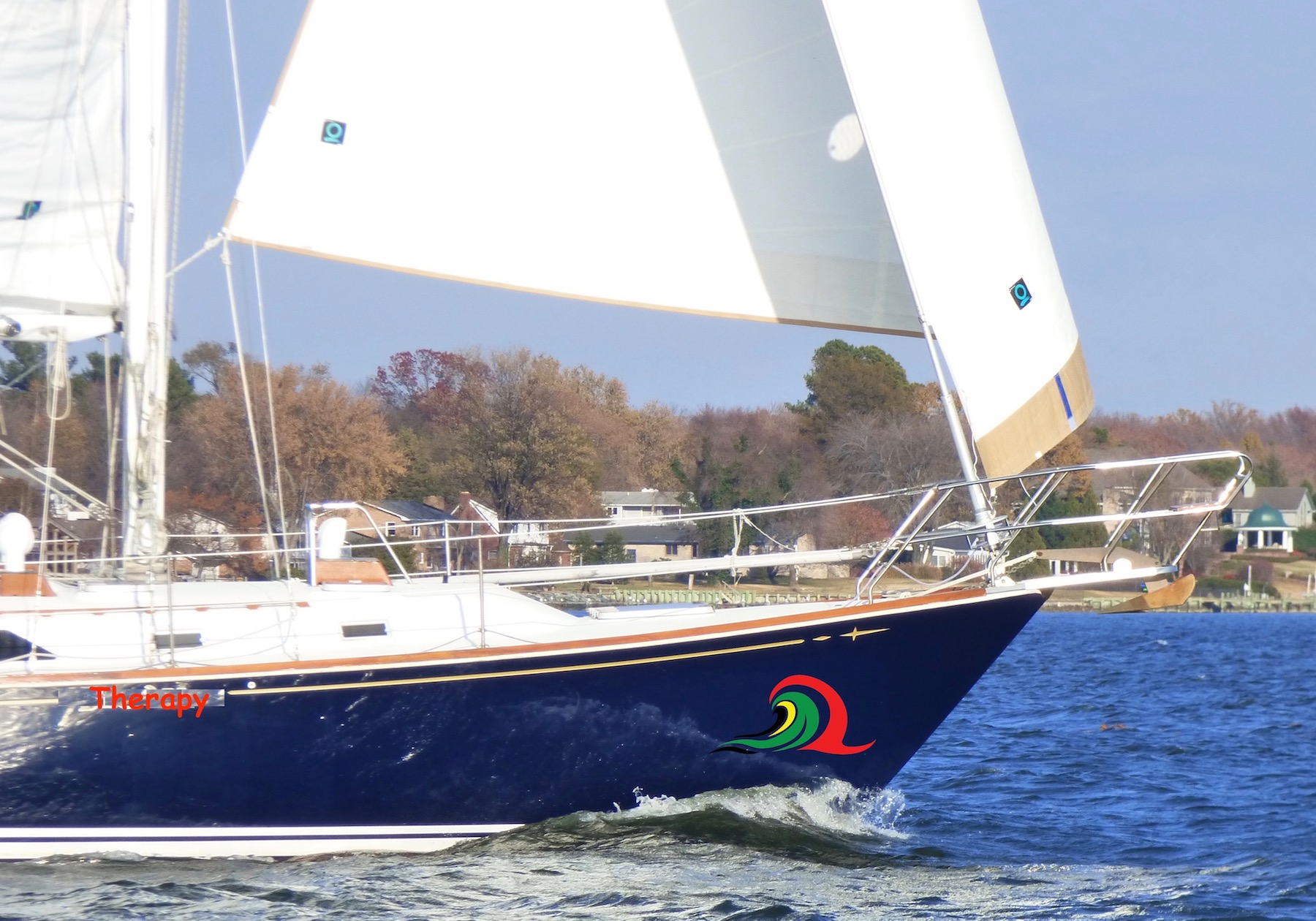 sailboat charter rental Chesapeake bay bareboat Annapolis md south river family birthday