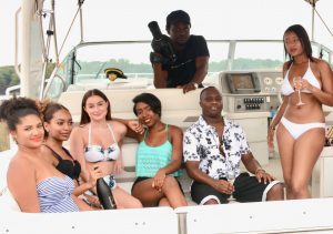 photoshoot Annapolis boat rental yacht party music video photographer baltimore Washington DC