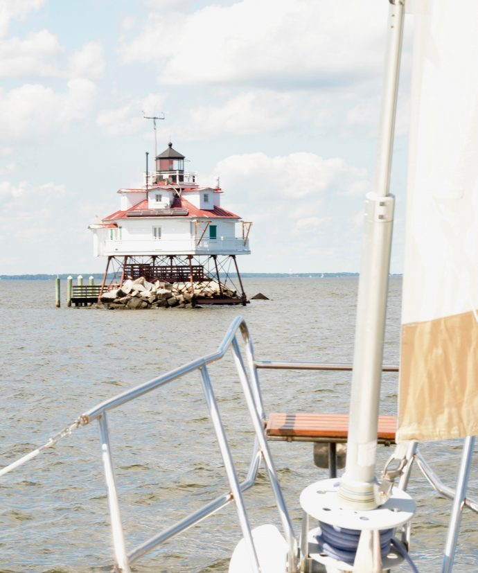 Thomas point shoal lighthouse Chesapeake bay Annapolis MD