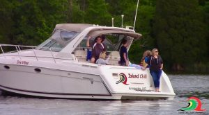 powerboat charter motor yacht birthday Chesapeake bay family Annapolis MD