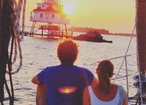 Sunset cruises on the Chesapeake!