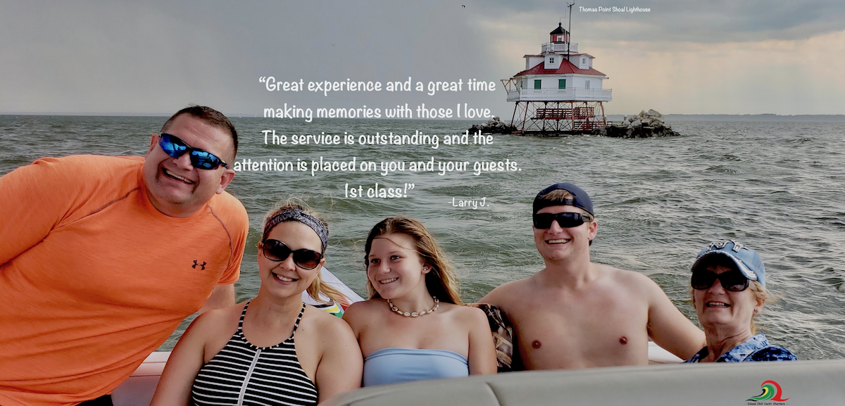 family-thomas-point-lighthouse-cruise-chesapeake-bay-private-boat-south-river-maryland